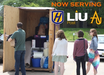 now serving hofstra NYIT LIU CW Post Long Island college campus storage