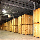Long Island Storage Warehouse Crates Wood PODS for Home Self Storage